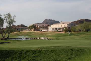 Mesa is famous for its many fabulous golf courses and several are close to home