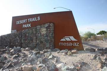 Another exciting park in Mesa with hiking and biking trails of all levels