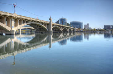 Tempe town lake is 10 minutes away