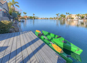 Community dock available for non-gas powered engines; 2 private docks and two kayaks for guests to use