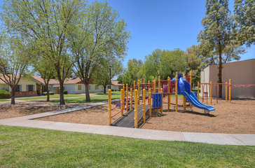 Community playground for the guests who are children or children at heart