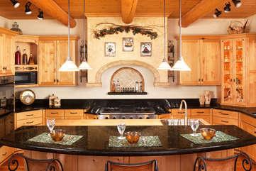 Gourmet Kitchen -Star View Lodge