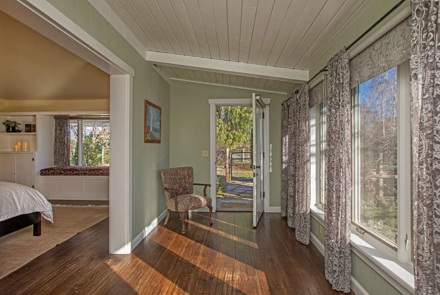Enjoy the sunshine from the Master Bedroom