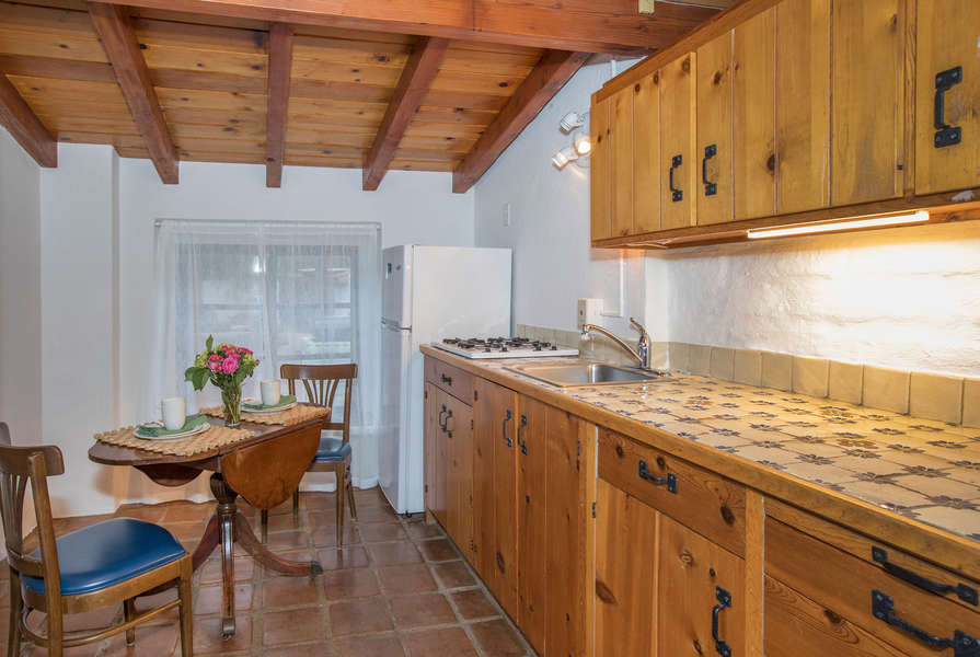 Family Suite comes equipped w/ kitchenette