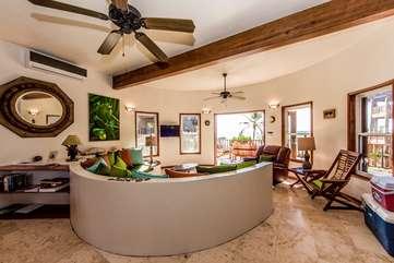 Indigo Belize 3B Living Area