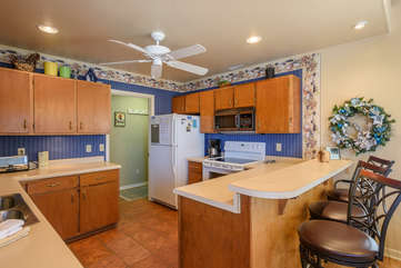 111 Skiway Kitchen With Lots of Natural Light