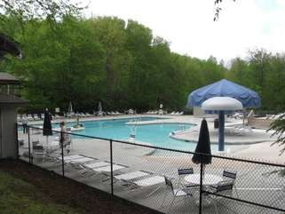 Beech Mountain Club Pool, right by the Tennis Courts