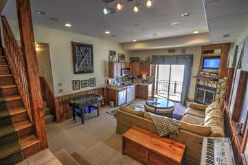 Downstairs Den & Game Room
