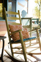 Comfy Rocking Chairs on Deck to Take in the View!