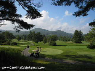 Beech Mountain Lodge Nearby golf at The Boone Golf Club