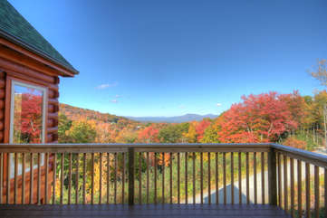 Buena Vista Private Deck from King Master Suite