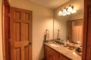 Private Vanity for Upstairs King Bedroom