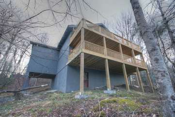 Majestic Mountain Haus Exterior Rear Picture