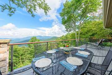 Outdoor Dining with Long Range Views