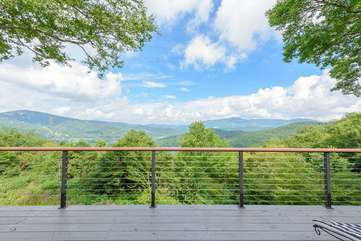 Enjoy the Long Range Views from Almost Anywhere at the Home
