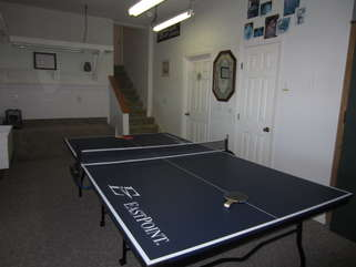Mountain Sunrise Separate Game Room with Ping Pong Table