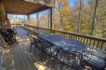 North View Lodge Outdoor Dining