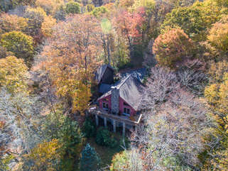 North View Lodge rear from above