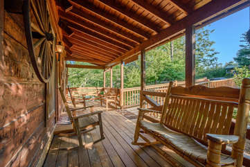 Whispering Pines Front Porch