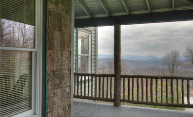 Whispering Hills Front Porch View