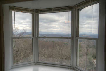 Whispering Hills Upstairs Master Suite View Window