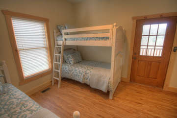 Eagles Nest Bunk and Twin Bedroom on Lower Level