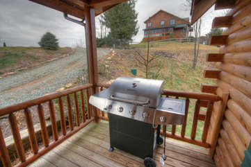 Eagles Nest Gas Grill