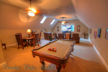 21 Linville Ridge Pool Table and Movie Room