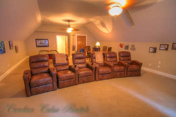21 Linville Ridge Movie Room with Theater Seating