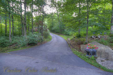 21 Linville Ridge Paved Driveway Access from Paved Road in Linville Ridge Community