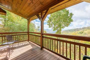 Private Deck for Master Bedroom
