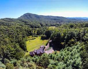Aerial View of Johnson`s Lodge