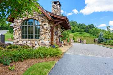 Main Entrance and Security Gate to Blue Ridge Mountain Club
