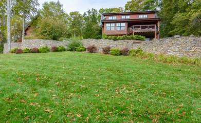 Large, Private Landscaped Yard