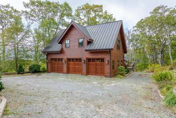 Three-car Garage with 2BR Carriage House above