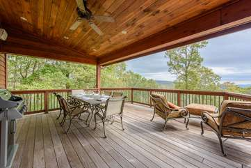 Covered Deck on Rear of Main Level