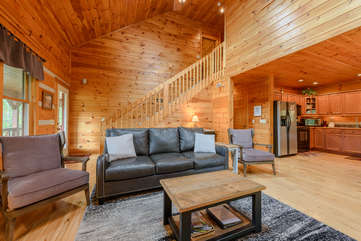 Rustic Wood Walls Throughout House