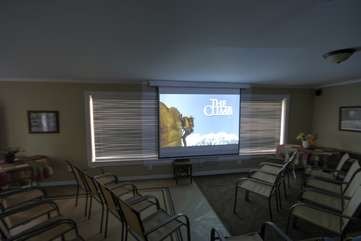 Family Gathering Room with Projector, Surround Sound