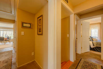 Upstairs Hallways leading to Bedrooms, Family Room