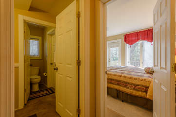 1 of 2 Upstairs King Bedrooms with Bathroom Adjacent.