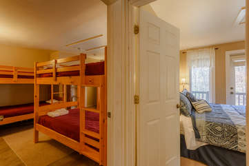 Upstairs Bunk Room Beside 2nd King Bedroom