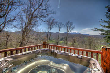 Overlook Estate Hot Tub with Views