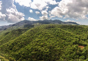 Tyneloch aerial views of Grandfather Mountain