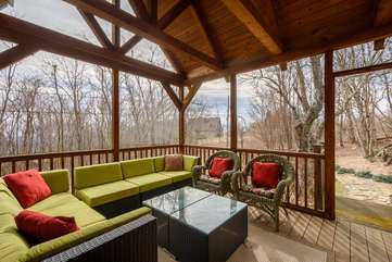 Rear Screened in Porch with Heat