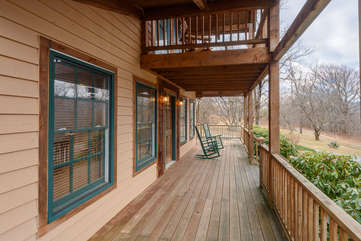 Extensive Decking - Both Covered and Open-Air