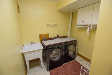 Seaforth Laundry on lower level of home