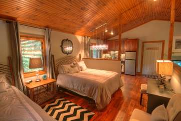 Tongue in Groove Ceilings and Hard Wood Floors, Rustic Elegance with a Mountain Modern Flare