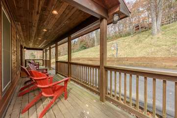 Front Porch of Summit Creek
