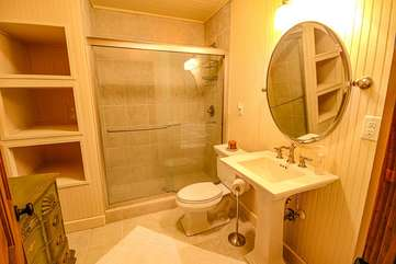 Full Bathroom on Lower Level