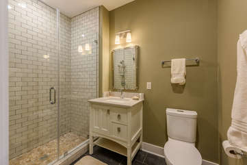Full Bathroom with Large Shower